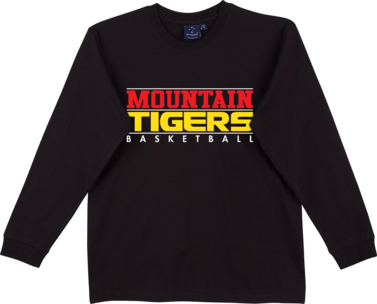 Display image for Mountain Tigers Long Sleeve Tee
